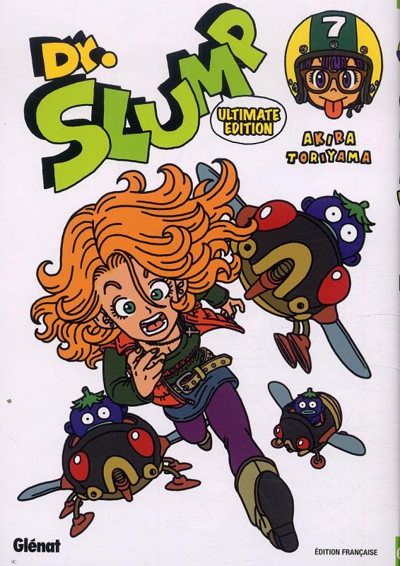 Dr Slump – Ultimate edition, T7, manga chez Glénat de Toriyama