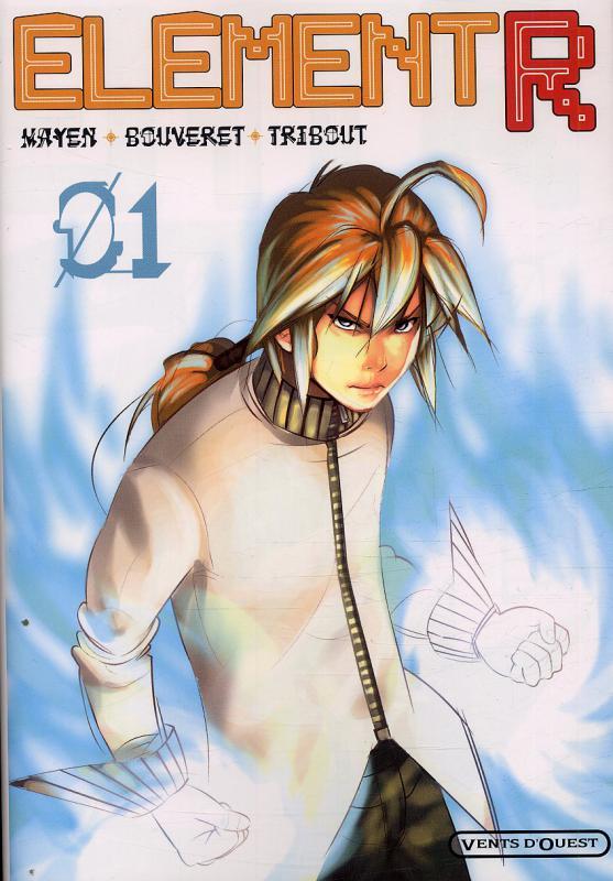 Element R T1, manga chez Vents d'Ouest de Mayen, Tribout, Bouveret