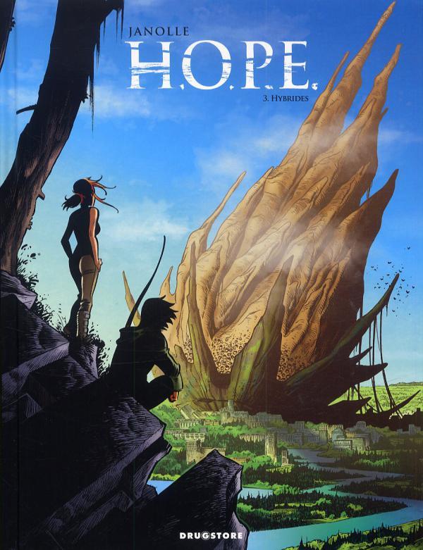 Hope T3 : Hybrides (0), bd chez Drugstore de Janolle, Daviet
