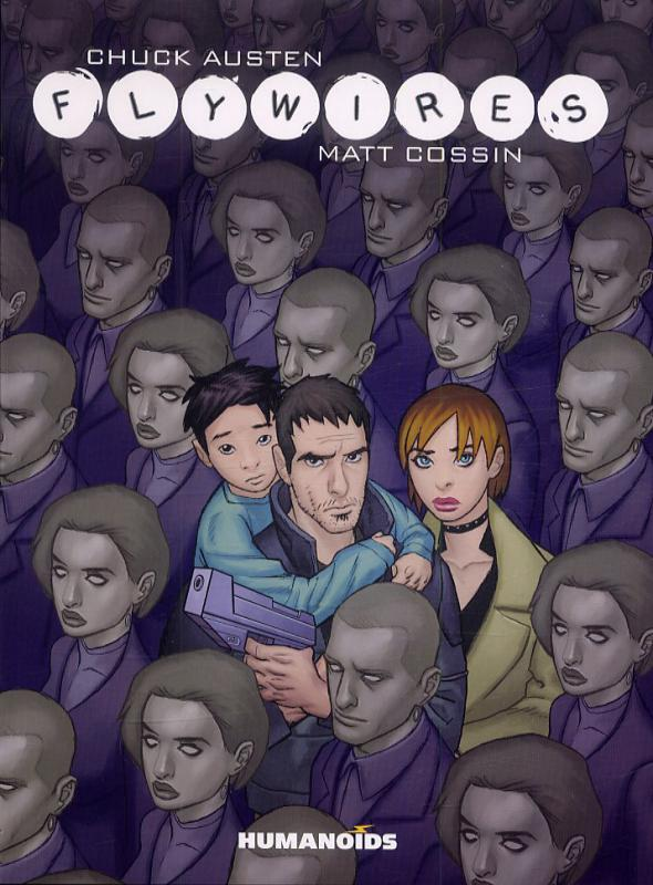 Flywires, comics chez Les Humanoïdes Associés de Austen, Cossin