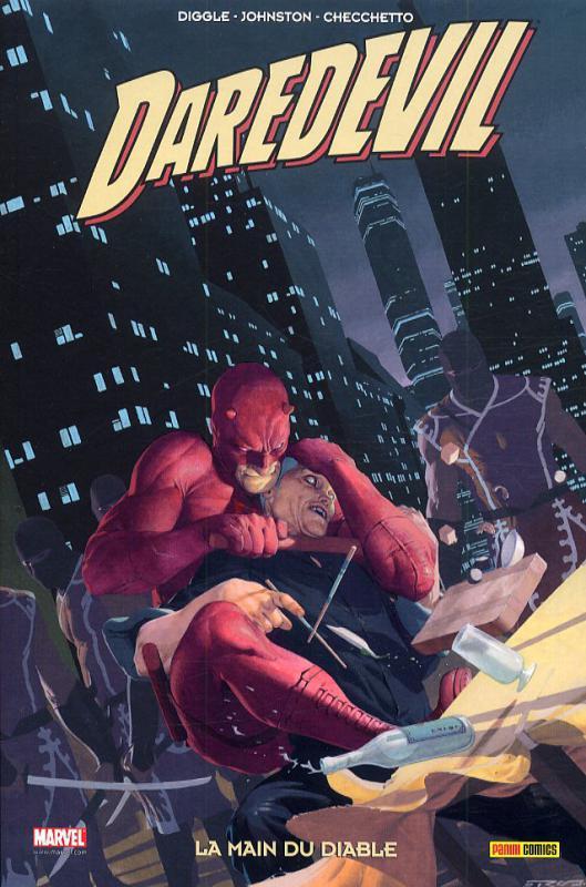 Daredevil - L'homme sans peur – 100% Marvel, T21 : La main du diable (0), comics chez Panini Comics de Johnston, Diggle, Checchetto, De La Torre, Hollingsworth