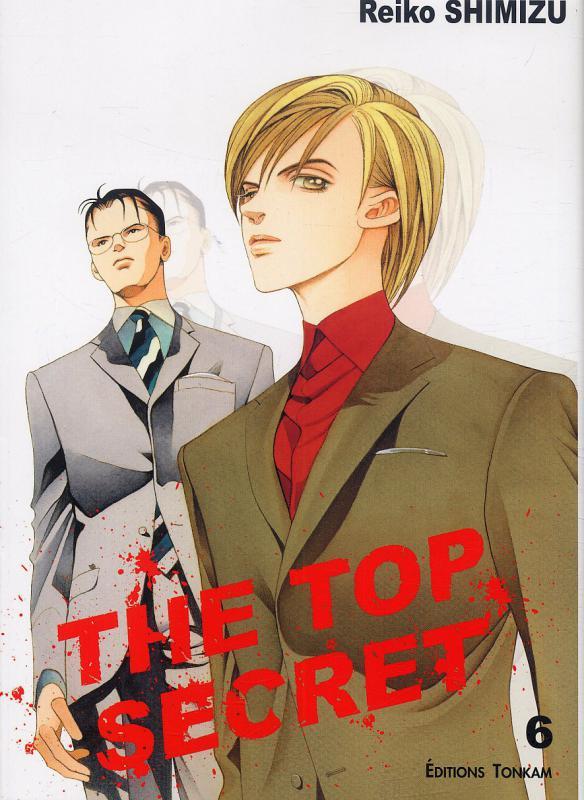 The top secret T6, manga chez Tonkam de Shimizu
