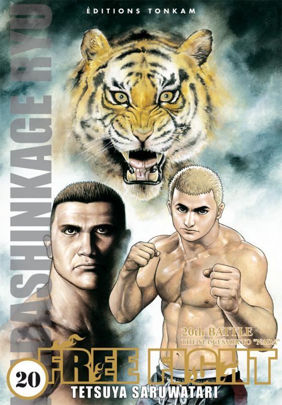 Free Fight - New tough T20, manga chez Tonkam de Saruwatari