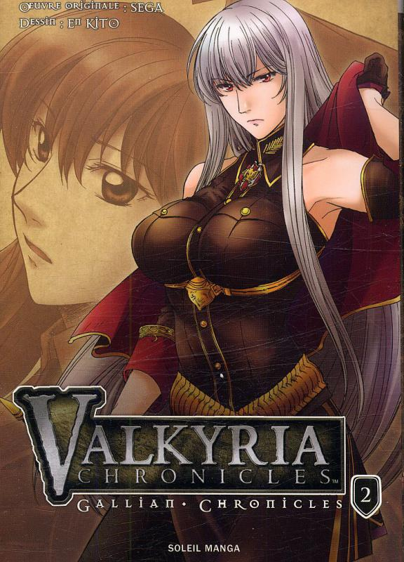 Valkyria chronicles - Gallian chronicles T2, manga chez Soleil de Kito