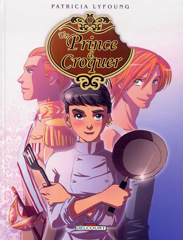 Prince à croquer T1 : Entrée (0), bd chez Delcourt de Lyfoung, Fleur