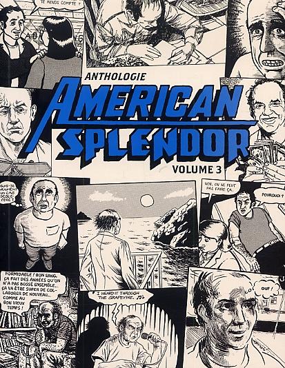 American Splendor - Anthologie T3, comics chez Çà et là de Pekar, Shamray, Crumb, Collier, Stack, Warneford, Dumm, Wald, Neufeld, Zabel, Sacco, Piskar, Gilbert
