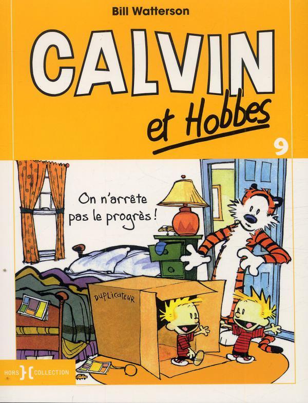 Calvin et Hobbes – Petit format, T9 : On n'arrête pas le progrès (0), comics chez Hors Collection de Watterson