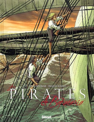 Les pirates de Barataria – cycle 1, T4 : Océan (0), bd chez Glénat de Bourgne, Bonnet