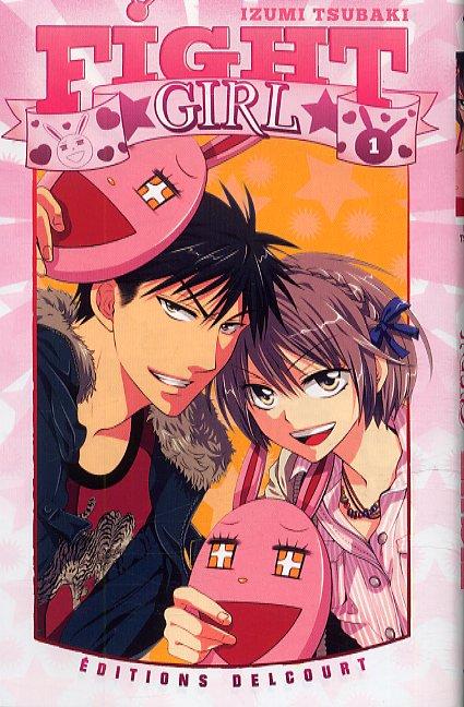 Fight girl T1, manga chez Delcourt de Tsubaki