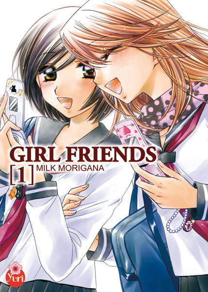 Girl friends T1, manga chez Taïfu comics de Morinaga