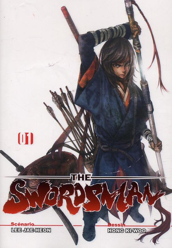 The Swordsman T1, manga chez Booken Manga de Lee, Hong