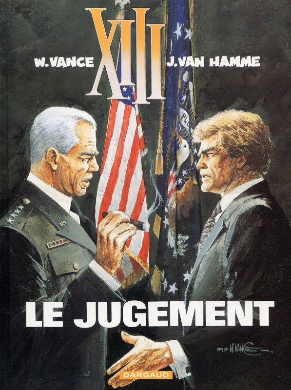 XIII T12 : Le jugement (0), bd chez Dargaud de Van Hamme, Vance, Petra