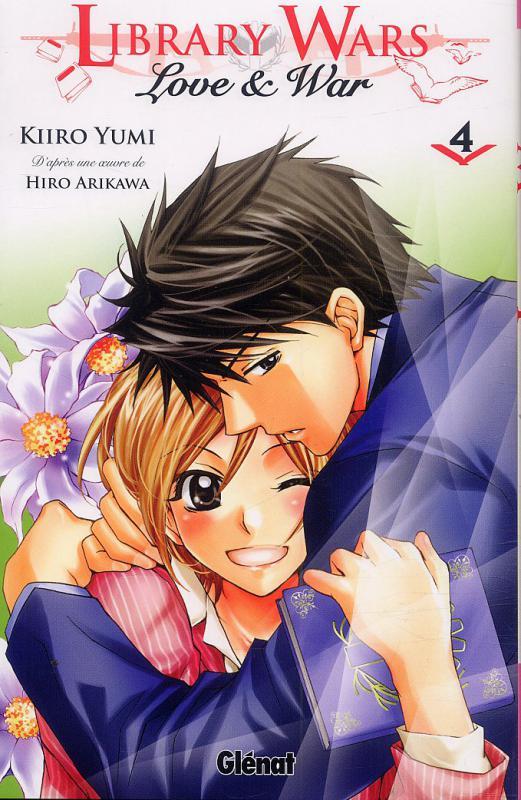 Library wars - Love & war  T4, manga chez Glénat de Arikawa, Yumi