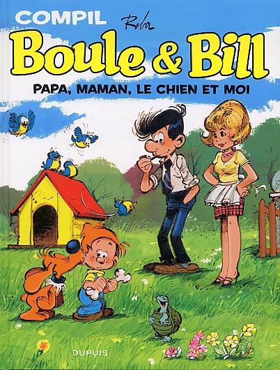 Boule et Bill T2 : Papa, Maman, le chien et moi (0), bd chez Dupuis de Roba