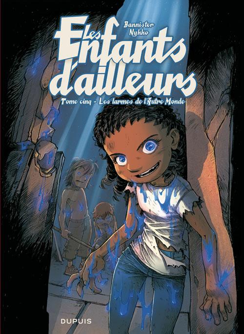 Les enfants d'ailleurs – cycle 2, T5 : Les larmes de l'autre monde (0), bd chez Dupuis de Nykko, Bannister, Jaffré