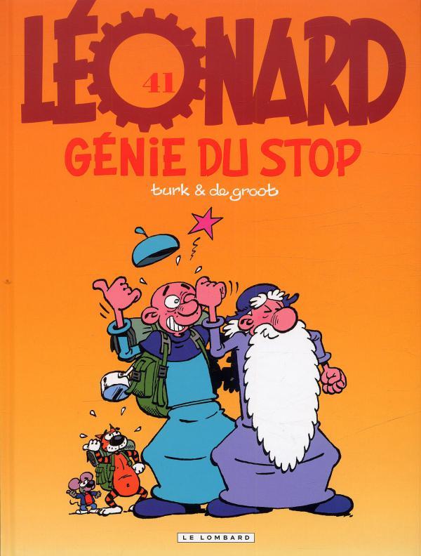 Léonard T41 : Génie du stop (0), bd chez Le Lombard de Turk, de Groot, Kael