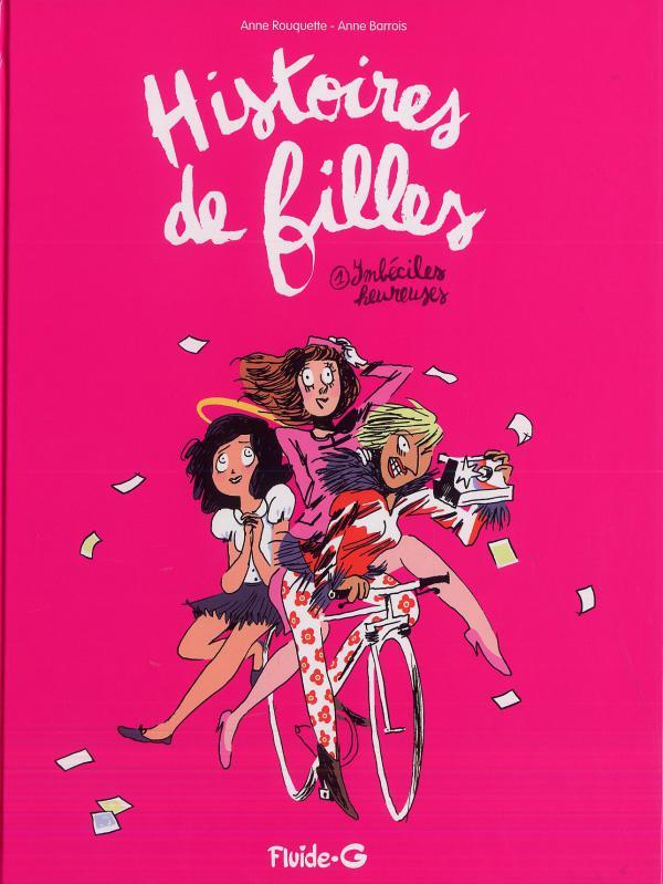 Histoires de filles T1, bd chez Fluide G. de Barrois, Rouquette