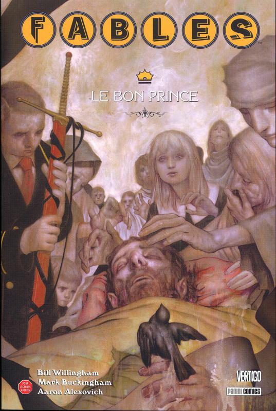 Fables – Softcover, T12 : Le bon prince (0), comics chez Panini Comics de Willingham, Alexovitch, Buckingham, Leialoha, Loughridge, Jean