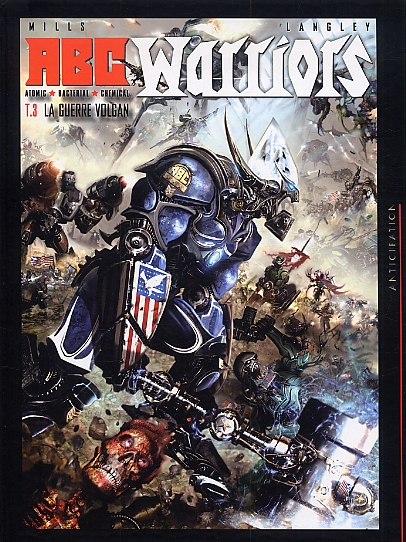 ABC Warriors T3 : La guerre Volgan (0), comics chez Soleil de Mills, Langley