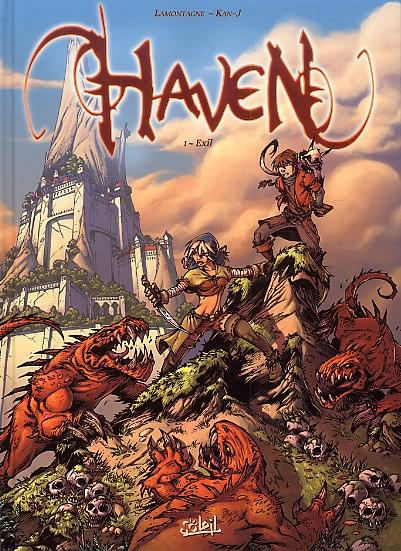 Haven T1 : Exil (0), bd chez Soleil de Lamontagne, Kan-j, Zigenfruke