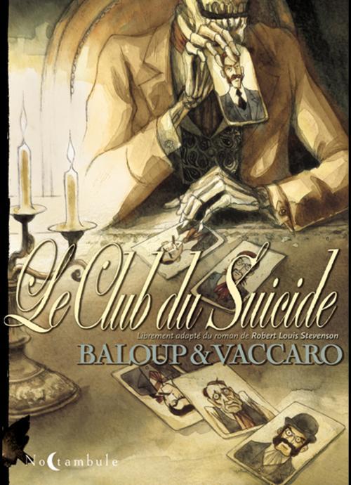 Le Club du suicide, bd chez Soleil de Baloup, Vaccaro