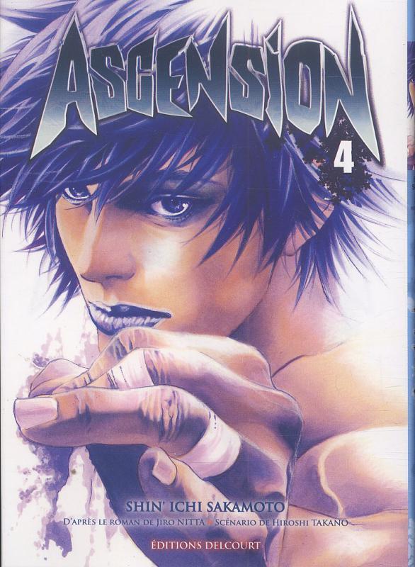 Ascension T4, manga chez Delcourt de Nabeta, Nitta, Sakamoto