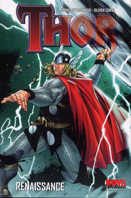 Thor – Marvel Deluxe, T1 : Renaissance (0), comics chez Panini Comics de Straczynski, Milligan, Fraction, Djurdjevic, Braithwaite, Sepulveda, Coipel, Brereton, Nord, Allred, Djurdjevic, Mounts, d' Armata, Allred, Troy, Strain, Martin