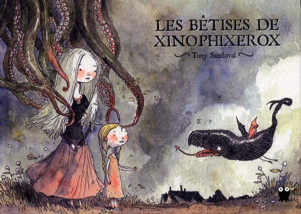 Les Bêtises de Xinophixerox, bd chez Paquet de Sandoval