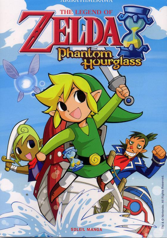 The Legend of Zelda - Phantom hourglass, manga chez Soleil de Himekawa