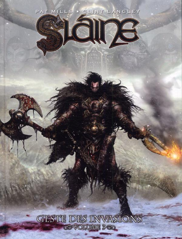 Slaine - Geste des invasions T3, comics chez Nickel de Mills, Langley
