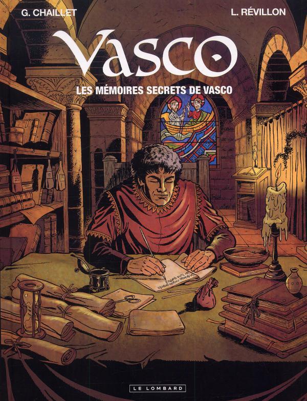 Vasco : Les mémoires secrets de Vasco (0), bd chez Le Lombard de Révillon, Chaillet