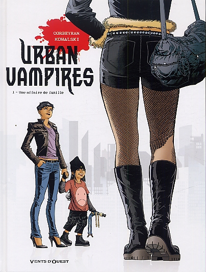 Urban vampires T1 : Une Affaire de famille (0), bd chez Vents d'Ouest de Corbeyran, Kowalski, Scomazzon