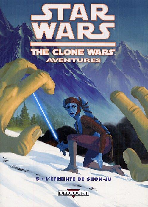 Star Wars (revue) – The clone wars aventures, T5 : L'étreinte de Shon-Ju (0), comics chez Delcourt de Barlow, Koschak, Pattison