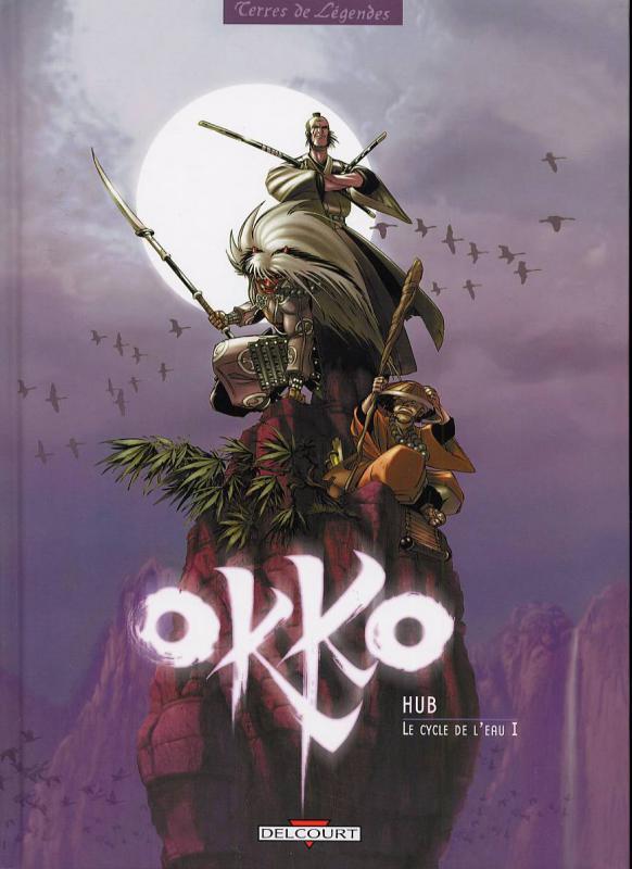 Okko – cycle 1 : Cycle de l'eau, T1 : Le cycle de l'eau 1 (0), bd chez Delcourt de Hub, Pelayo