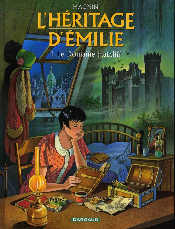 L'héritage d'Emilie T1 : Le domaine Hatcliff (0), bd chez Dargaud de Magnin