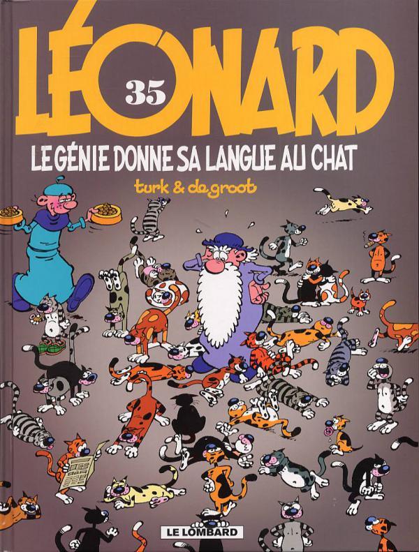 Léonard T35 : LE génie donne sa langue au chat (0), bd chez Le Lombard de Turk, de Groot