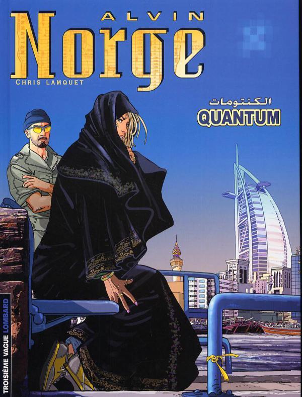 Alvin Norge T5 : Quantum (0), bd chez Le Lombard de Lamquet