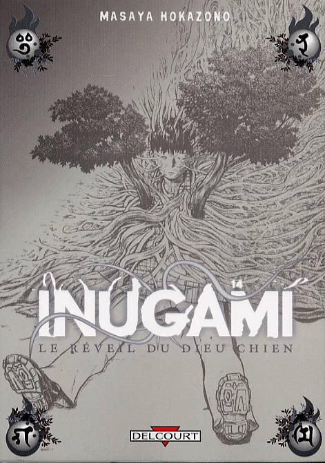 Inugami, le réveil du dieu chien T14, manga chez Delcourt de Hokazono