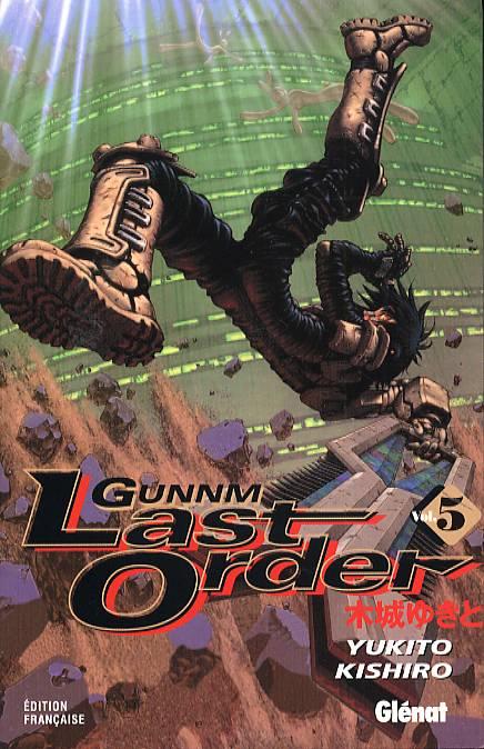 Gunnm Last Order – 1e édition, T5, manga chez Glénat de Kishiro