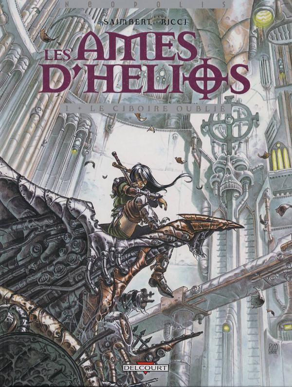 Les ames d'Helios T1 : Le ciboire oublié (0), bd chez Delcourt de Saimbert, Ricci