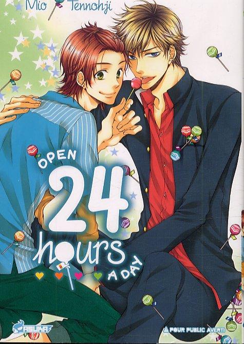 Open 24h a day, manga chez Asuka de Tennohji