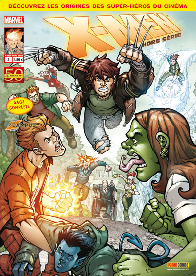 X-Men (revue) – Hors série V 2, T2 : X-Campus (0), comics chez Panini Comics de Medda, Artibani, Medri, Failla, Vitti, Di Salvo, Gugliotta, Amici, Bonechi, Niro, Giumento, Algozzino, Nauck