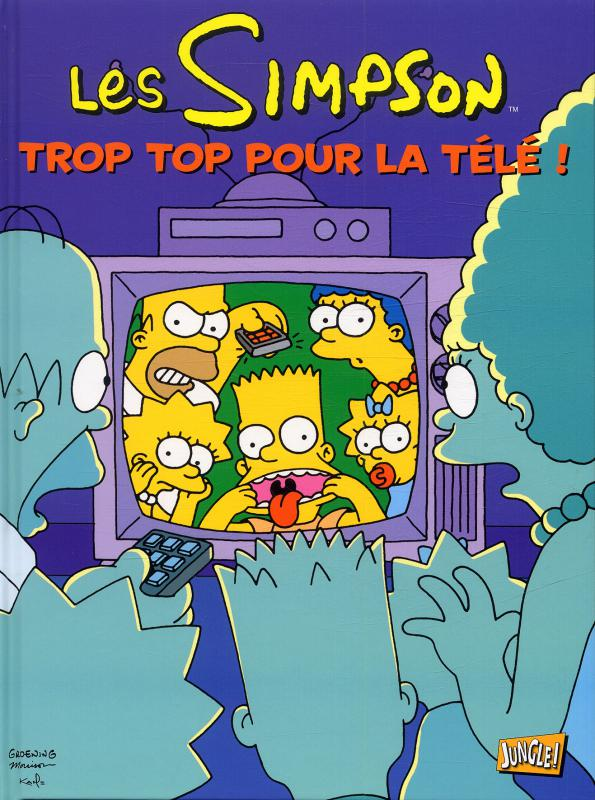 Les Simpson T14, comics chez Jungle de Groening