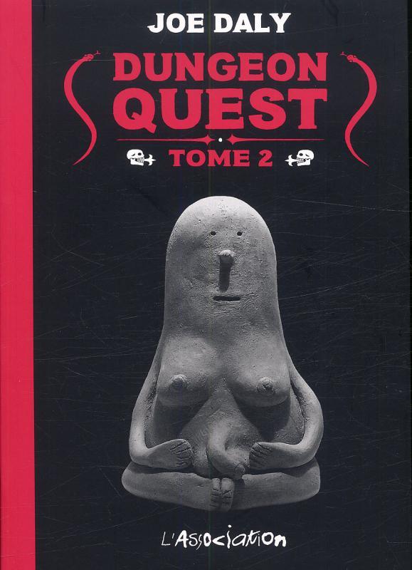 Dungeon quest T2, comics chez L'Association de Daly
