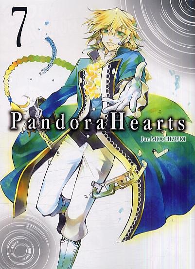 Pandora Hearts T7, manga chez Ki-oon de Mochizuki