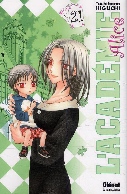 L'académie Alice T21, manga chez Glénat de Higuchi