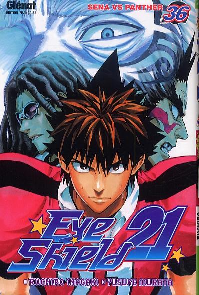 Eye Shield 21 T36 : Sena vs Panther (0), manga chez Glénat de Inagaki, Murata