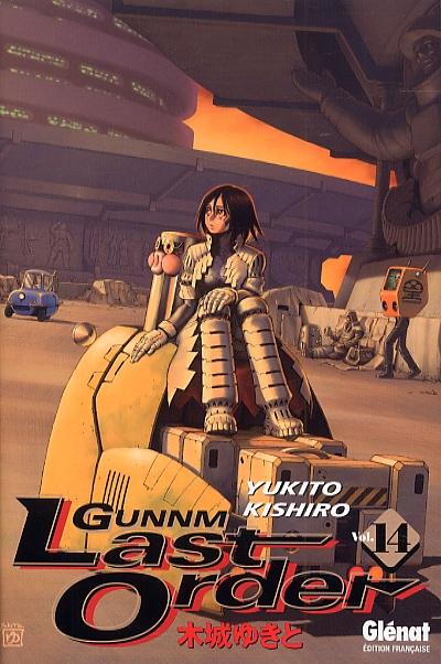 Gunnm Last Order – 1e édition, T14, manga chez Glénat de Kishiro