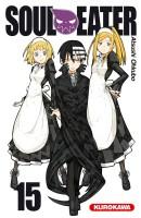 Soul eater T15, manga chez Kurokawa de Ohkubo