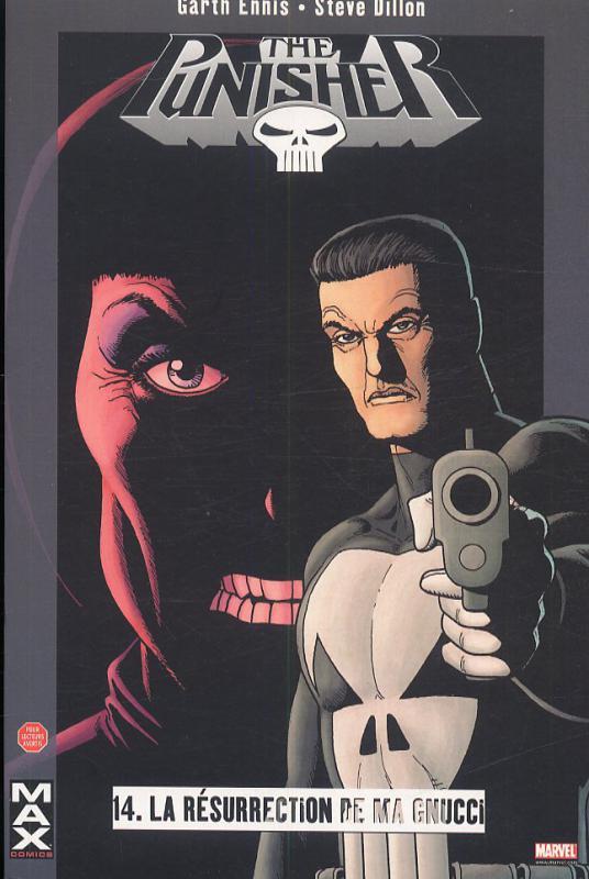 The Punisher – Max Comics, T14 : La résurrection de Ma Gnucci (0), comics chez Panini Comics de Ennis, Dillon, Hollingsworth